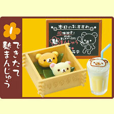 Re-Ment Rement Miniature Sanrio Rilakkuma Japan Coffee Shop Wacoffee Set # 1