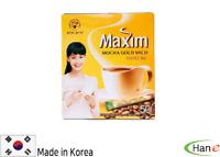 50 Sticks Korea Instant Hot Coffee Mix Stick Maxim Mocha Gold Mild Sweet Sugar