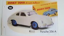 Dinky toys atlas-booklet only the porsche 356 a (booklet only)