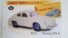 Dinky Toys Atlas - Fascicule SEUL de la Porsche 356 A (Booklet only)