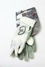 Pack of 2 - Combat Ultra Dry Mesh Youth Batting Gloves White/Green X-Small