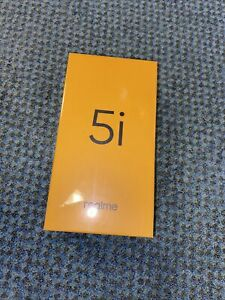 Realme 5i (Aqua Blue, 64 GB ROM) (4 GB RAM) Unlocked Creased Box