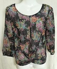 New Look Blouse Long Sleeve Floral Tops & Shirts for Women