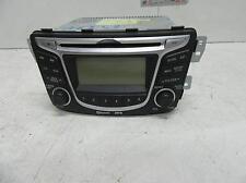 HYUNDAI ACCENT RADIO/CD PLAYER , W/ MP3/BLUETOOTH, RB,07/11- 07 08 09 1