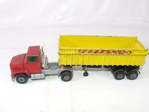Matchbox Superkings K16/18 Ford LTS Series Tractor & Trailer Spares or Repair