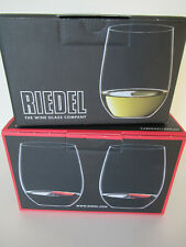 Riedel wine glasses (4), new in boxes (2 white / 2 red)
