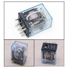 1Pc 8Pin 5A 220-240V AC MY2NJ Led LampCoil DPDT Power Relay