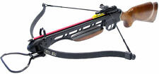 150lb Real Wood Tactical Hunting Crossbow with 2pc Arrows 210 FPS New