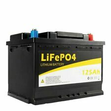 ATEM POWER 12V 125AH Lithium Battery Rechargeable (VABY104A)