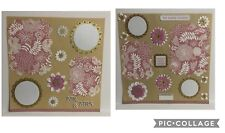 Wedding Premade Scrapbook Pages- 2 12x12 Layout- Beige Pink And Gold