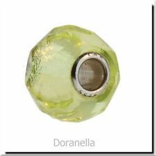 Authentic Trollbeads Glass 60191 Lime Prism :0