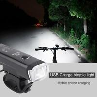 Bike Smart Front Light Induction Bicycle Bright Light Torch Bike Headlight
