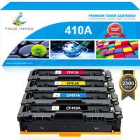 4x Toner Compatible for HP 410A CF410A Color Laserjet Pro M477fnw M477fdw M452dn