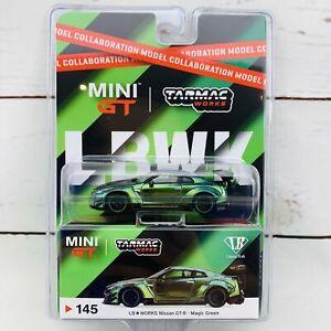 Tarmac Works x Mini GT Collaboration Model 1/64 LB WORKS Nissan GTR (R35) Type 2