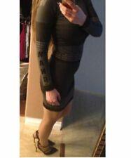 NWT Alexander Wang X H&M Balmain x H&M - Jacquard-knit DRESS Size: M   SHIP ASAP