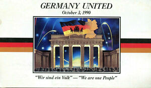 Germany United $5 Commemorative Coin - Marshall Islands 1990