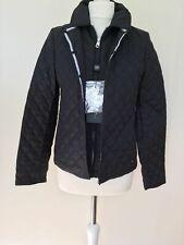 Weekend Max Mara Black Vanda Quilted Jacket 10 UK US 6 Was £205 NEW