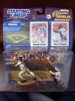 STARTING LINE UP 2000 SERIES CLASSIC DOUBLES DEREK JETER MIKE PIAZZA