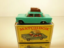 MATCHBOX 56 FIAT 1500 + ROOF RACK - GREEN - EXCELLENT IN BOX