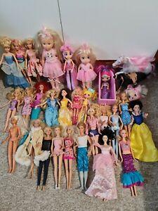 Doll Bundle .Barbie Mattel Disney and Others dolls