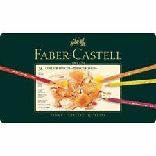 Faber Castell Polychromos Artist Quality Tin Set of 36 Color Pencil