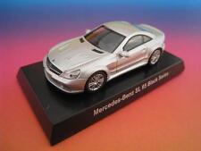 AMG Mercedes-Benz SL 65 Black Series en plata * Kyosho japón * 1:64 * OVP