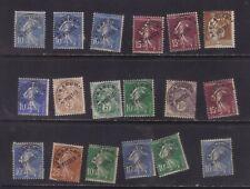 stamps  France  precancel