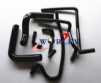 For Holden V8 VN VP VR VS 5.0L SS 304 Silicone Radiator Heater Hose kit Black