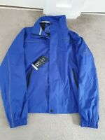 Marks And Spencers Blue Harbour Golf PGA Tour Rain Coat Jacket Blue Size Medium
