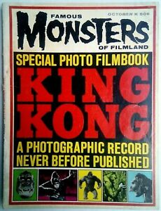 FAMOUS MONSTERS OF FILMLAND #25 (1963 KING KONG) key Universal issue