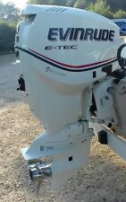 Outboard Motor Evinrude Etec 115 Hp 2-stroke 61hours only, immaculate condition