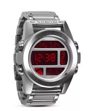 Nixon Watch Unit SS Silver / Red A360-1263