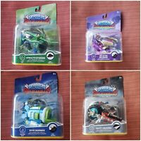 SKYLANDERS SUPERCHARGERS LOT OF 4 VEHICLES CRYPT CRUSHER DIVER BOMBER SPLATTERED