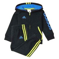 adidas Baby Boy's Graphic Hooded Jacket & Pants Set, Size: 9 Months