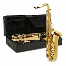 Tenor Saxophone by Gear4music Gold Most