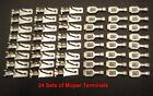 Dodge Plymouth Mopar  Wiring Terminals A B C E Cuda Roadrunner 1964-1974 14-16GA
