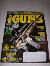 GUNS Magazine August 2017, GAS-PISTON PRECISION: THE 7.62 REPR MKII, .44 RUSSIAN