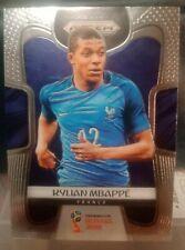 2018 World Cup Prizm Kylian Mbappe base Rookie card France #80