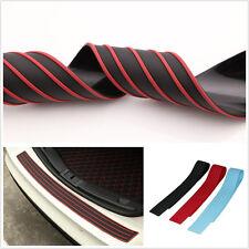 35.8 Inch Black&Red Autos Off-Road Rear Bumper Rubber Protector Strip Guard Pad