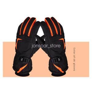 Touchscreen Outdoor Sport Waterproof Ski Snowboard Cycling Hiking Gloves Men