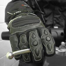 Tuzo TZG4 100% Waterproof Summer Motorcycle Gloves Black Medium M