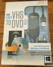 Roxio Easy VHS To DVD 3 Adaptor Connector Windows NIB