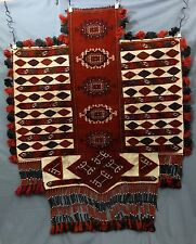 WOOL HORSE COVER PILE KILIM MINT CONDITION 69 INCHES X 53