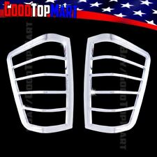 For Nissan TITAN 2004-2013 2014 Chrome 2 Taillight Bezel Covers Lights Tail Rear