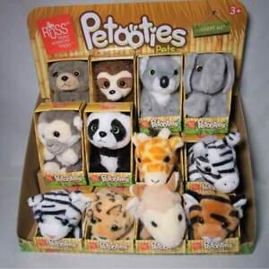 "PETOOTIES PETS 4"" 10cm Plush Zoo Series - Koala, Elephant and more Selection"