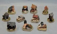David Winter Cottages Lot of 11 Cameos