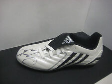 JIMMY BARTEL HAND SIGNED ADIDAS FOOTBALL BOOT (UNFRAMED) + PHOTO PROOF & C.O.A.