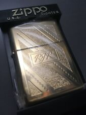 Zippo Lighter RJR Camel Joe Gold Plated 100 Made Very RARE 1999 mint.