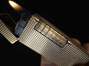 Dunhill Rollagas Lighter - Solid 9k Gold Outer - 1964 - Cased - Serviced