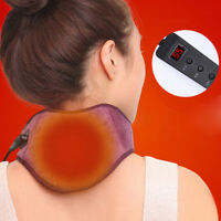 Usb Electric Neck Heat Support Belt Self Heating Neck Wrap Brace Health Care JE